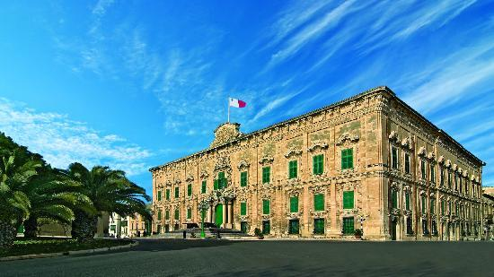 La Valeta, Malta: Auberge de Castille