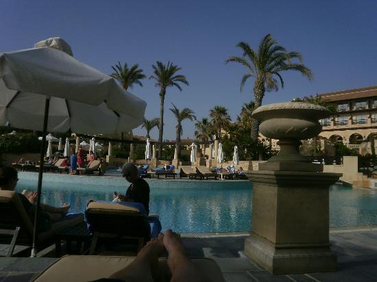 Elysium Hotel : Pool area