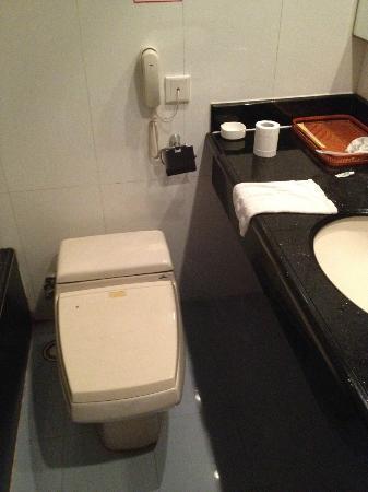 Jinye Hotel: Bathroom