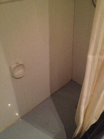 Xingning, China: Tile Bathroom as described