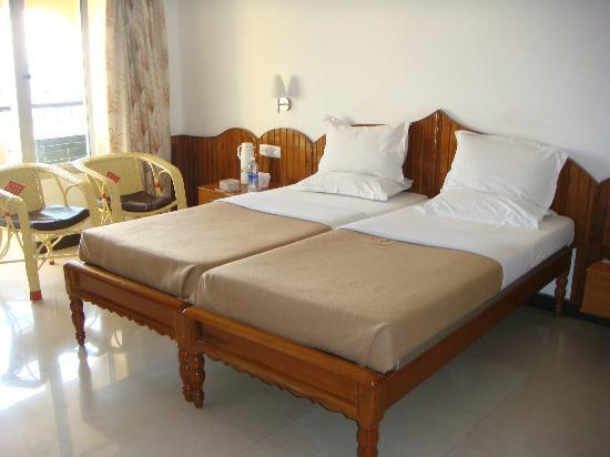 Sree Annapoorna Lodging: Beds