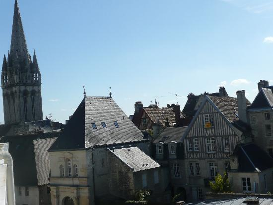Hotel des Quatrans: view from our bedroom.