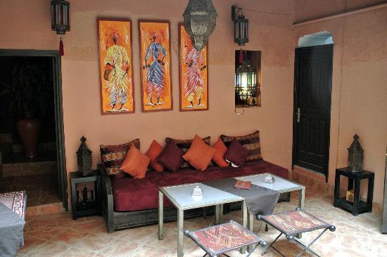 Riad Dar ATTIKA : Le patio.