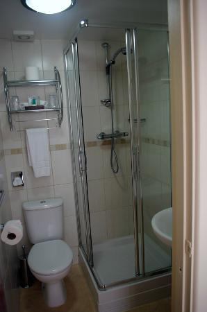 Riviera Lodge Hotel Torquay: Bathroom, very clean but a little tight