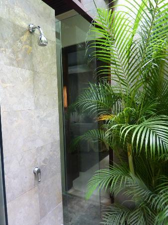 Kanishka Villas: Outdoor Shower