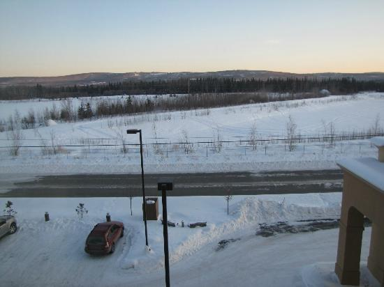 Hampton Inn & Suites Fairbanks: View south from the 3rd floor
