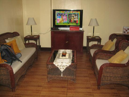 St Agatha Resort: Living room