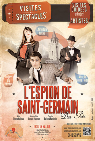 L'Espion de Saint-Germain des Pres Walking Tour