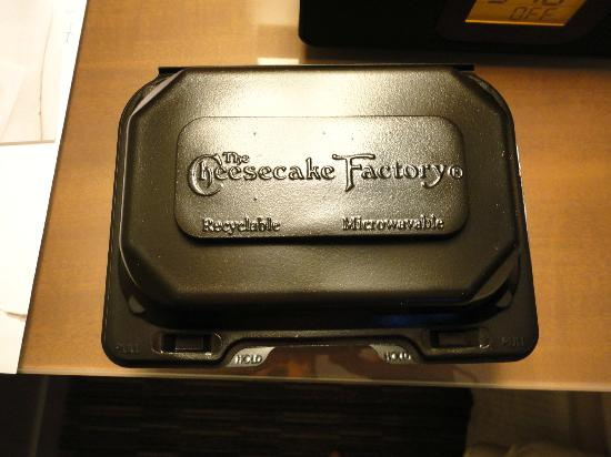 The Cheesecake Factory : Take out box