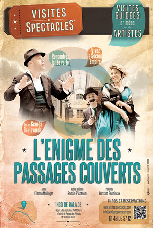 L'Enigme des Passages Couverts Walking Tour