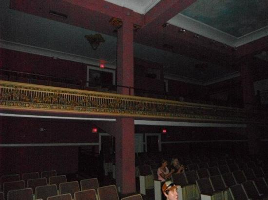 The OFFICIAL Ybor City Ghost Tour: the theater we go to explore in the dark so creepy!!! an amazing building ghost hunters TAPS had
