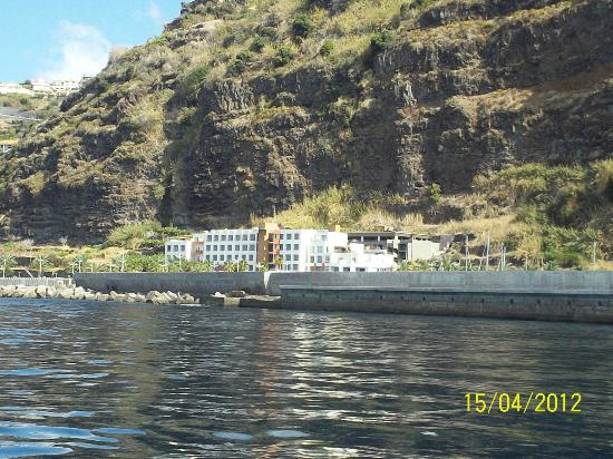 Savoy Calheta Beach: view from boat
