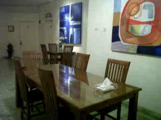 The Maritim Guest House: Dining area