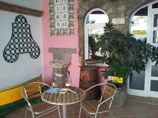 Hotel Punto Azzurro: Angolo Bar