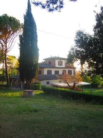 Poggio Sant'Angelo: View from the grounds.