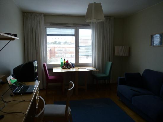 Stay At Stockholm Bromma: The sitting room