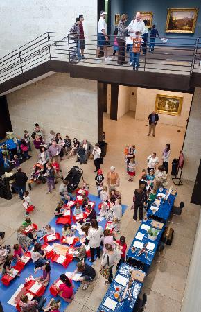 Amon Carter Museum of American Art : Family Fun Week