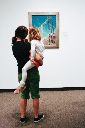 Amon Carter Museum of American Art : 20th century painting and sculpture gallery