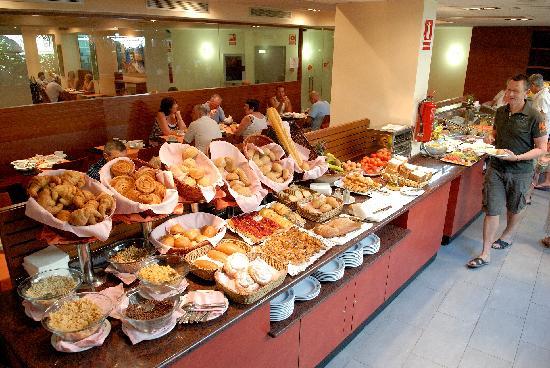 Hotel Platjador: desayuno