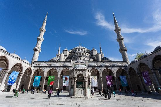 Tolga Kinas Istanbul Tour Guide : The Amazing Blue Mosque