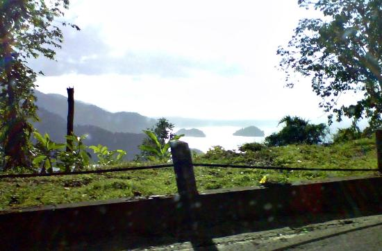 Maracas Bay: View of the sea