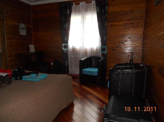 Le Papangue: chambre