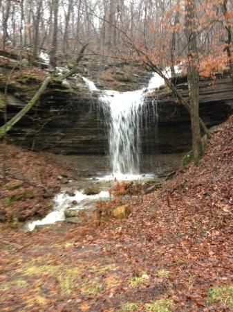 Turner Bend Outfitters: There are many beautiful waterfalls