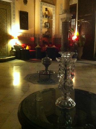 Riad Ibn Battouta: Le patio