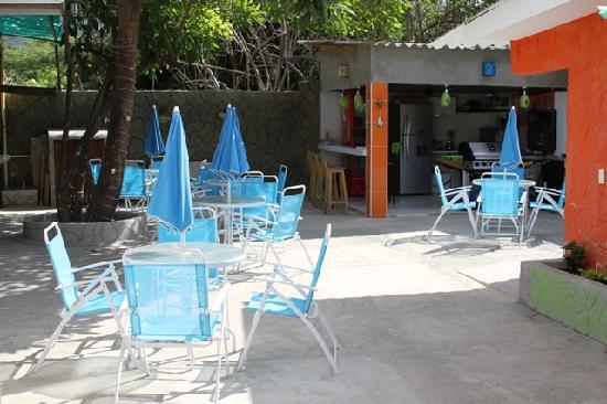 Taganga Dive Inn: Nuestra bella area social
