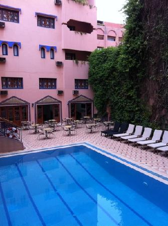 Hotel Oudaya: piscine
