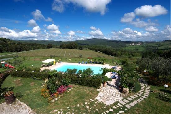 Antico Borgo il Cardino: Pool view