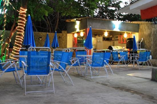 Taganga Dive Inn: AREA SOCIAL