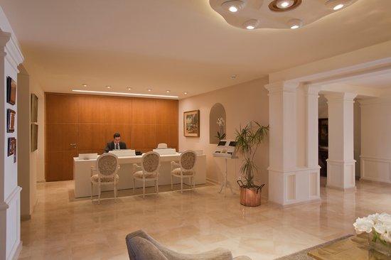 Hotel Illa d´Or: Hall-reception