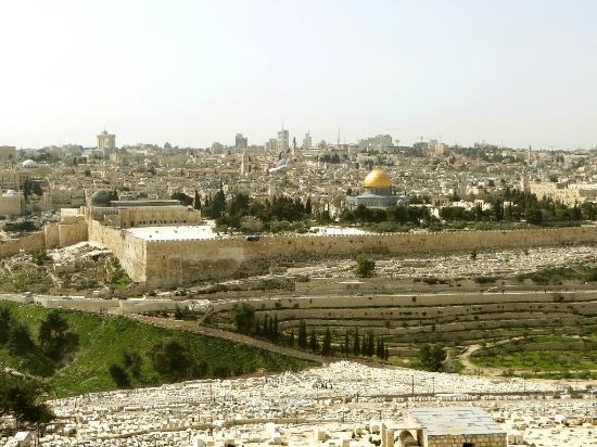 Tempelberg: An Stelle des jüdischen Heiligtums stehen heute moslemische Sakralbauten
