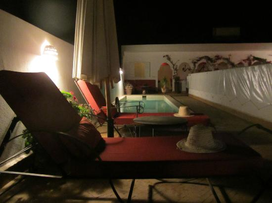 Riad La Maison Rouge : Swimming pool