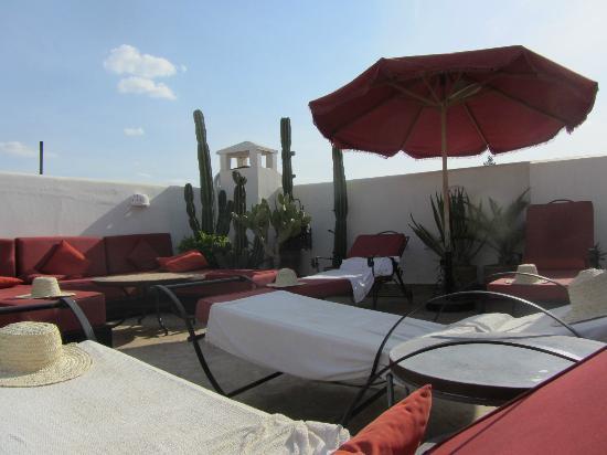 Riad La Maison Rouge : Terrace