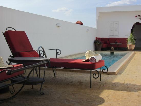 Riad Villa Almeria : Swimming pool