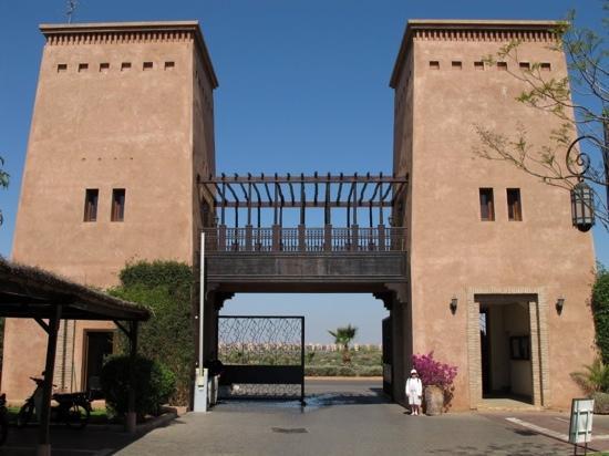 Residence Al Qantara: Entrée bien gardée