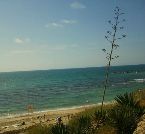 Tayelet : Independence Garden - Gan Ha-Atzmaut, overlooking Hilton Beach