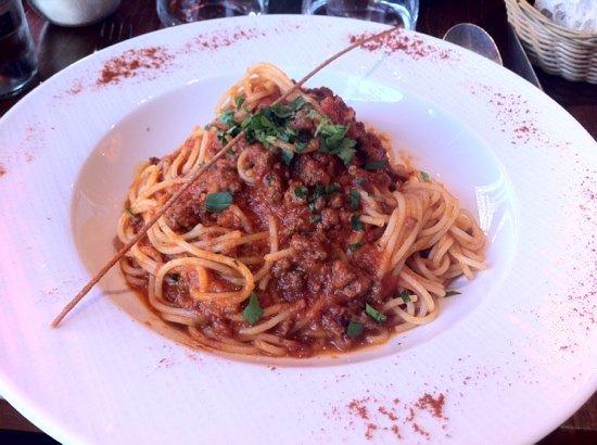 Bellagio: spaguetti bolognese