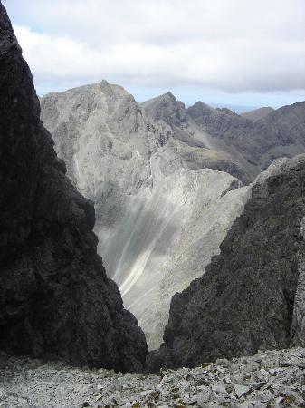 Sgurr Alasdair: Looking towards the Inaccessible Pinnacle