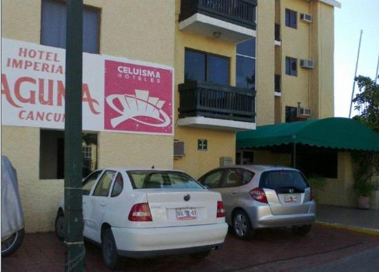 Beach House Imperial Laguna Cancun Hotel: mi llegada al Hotel