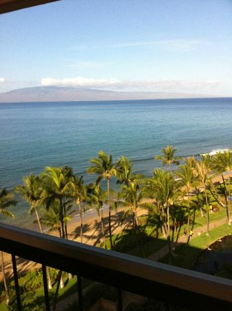 View of the Ocean from our Room