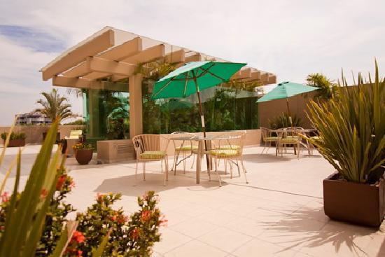 Meson Ejecutivo Hotel: Terraza