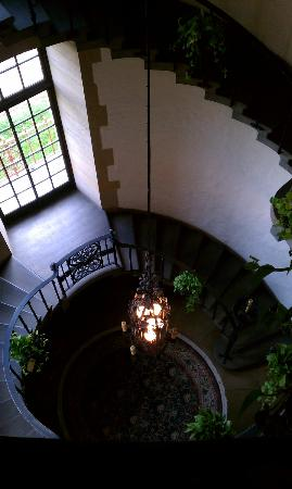 Graylyn Estate: One of the stairwells within the main house.