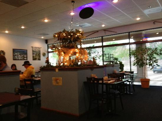 Mary's German Restaurant: The dining room