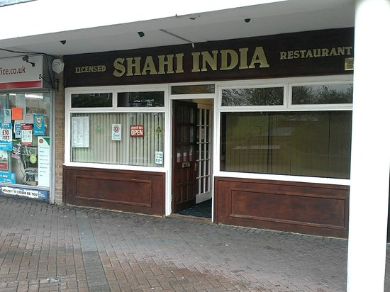 Shahi Restaurant: Outside - Very inconspicuous