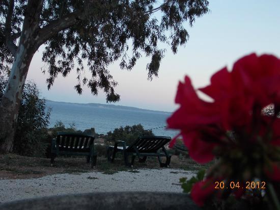 Hotel Azur : Vista
