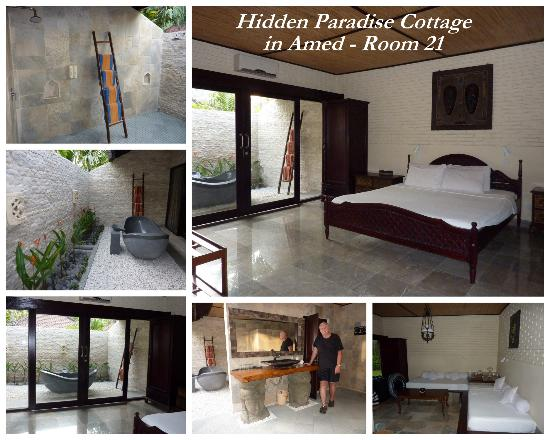 Hidden Paradise Cottages: Loved our room