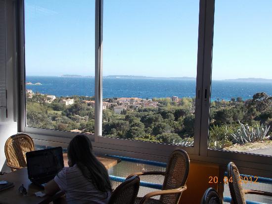 Hotel Azur : Vista do break feast